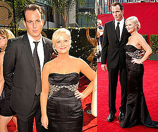 Photos of Amy Poehler and Will Arnett on Red Carpet at 2009 Primetime Emmy Awards