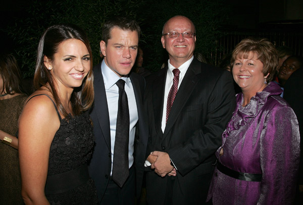 Photos of Matt Damon in NYC