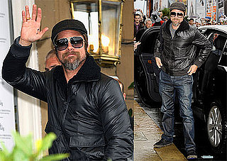 Photos of Brad Pitt at San Sebastian Film Festival