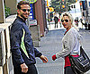 Slide Photo of Renee Zellweger and Bradley Cooper Walking Together After Working Out
