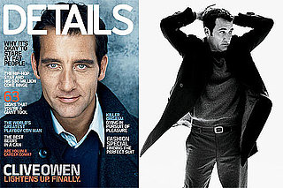 Photos and Quotes From Clive Owen in Details October 2009