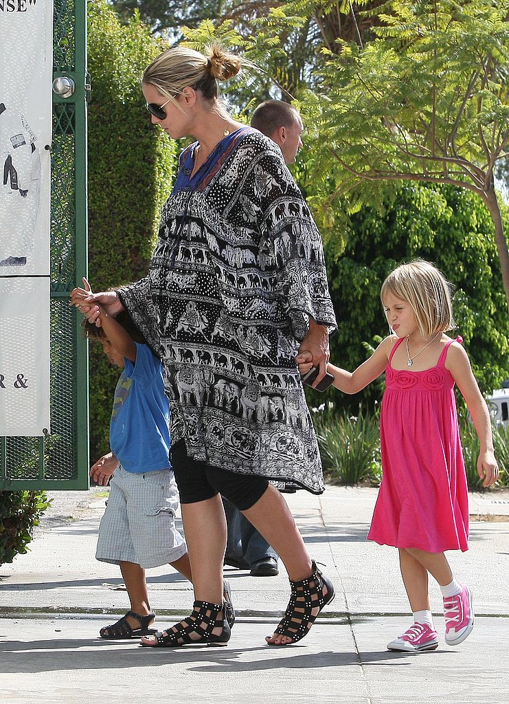 Photos of Heidi Klum and Kids