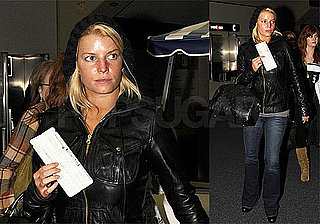 Photos of Jessica Simpson at Dallas Airport