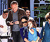 Slide Photo of Valentina Pinault, Francois-Henri Pinault, Salma Hayek at Lunch in Malibu