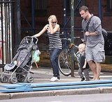 Photos of Naomi Watts and Liev Schriber with Alexander in NYC