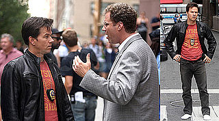 Will Ferrell and Mark Wahlberg Film Scenes for The Other Guys
