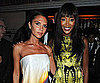 Slide Photo of Victoria Beckham and Naomi Campbell in London
