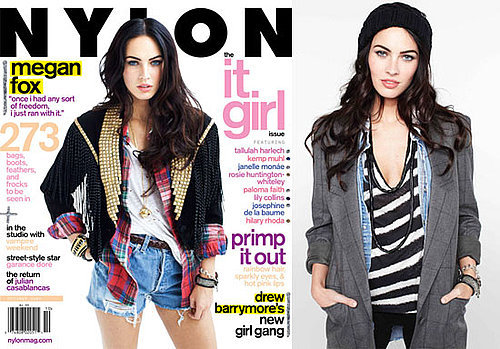 Photos and Quotes From Jennifer's Body Star Megan Fox in October's Nylon Magazine