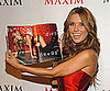 Slide Photo of Audrina Patrdige at Her Maxim Cover Party