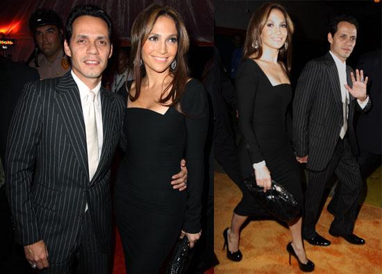 Photos of Jennifer Lopez and Marc Anthony