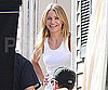 Slide Photo of Cameron Diaz Working on Set in Boston on Wichita