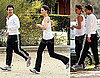 Photos of Tom Cruise And Katie Holmes Running Together in Melbourne