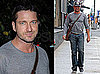 Photos of Law Abiding Citizen Star Gerard Butler in NYC; Denies Dating Jennifer Aniston Yet Again
