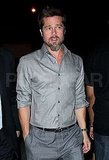 Photos of Brad Pitt in LAX
