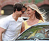 Slide Photo of Cameron Diaz, Tom Cruise Filming Wichita in Boston