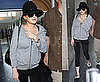 Photos of Lindsay Lohan at LAX While The LAPD IDs The People Who Burgled Her House