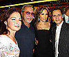 Slide Photo of Jennifer Lopez, Marc Anthony, Emilio Estefan, Gloria Estefan at Dolphins Game