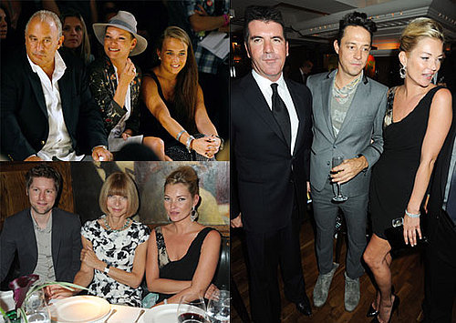 Photos of Kate Moss, Jamie Hince, Naomi Campbell, Simon Cowell, And Philip Green at London 2010 Spring Fashion Week 2009-09-21 11:00:14