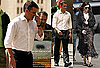 Photos of Matt Damon and Emily Blunt Filming The Adjustment Bureau in NYC 2009-09-29 16:00:30