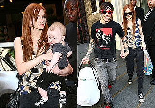 Photos of Ashlee Simpson, Pete Wentz, Bronx Wentz in NYC