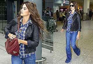 Photos of Penelope Cruz Walking After Denying Pregnancy Rumors
