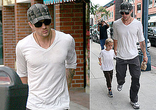 Photos of Ryan Phillippe and Deacon Phillippe Running Errands Together