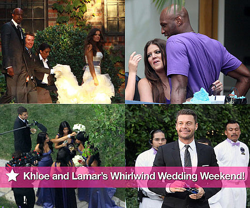 Photos of Khloe Kardashian and Lamar Odom's Wedding, Rehearsal Dinner in LA