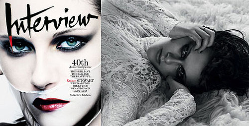 Photos and Quotes From New Moon's Kristen Stewart in Interview Magazine