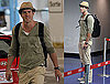 Photos of Ryan Reynolds at The Vancouver Airport