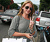 Slide Photo of Lauren Bosworth Shopping in Beverly Hills