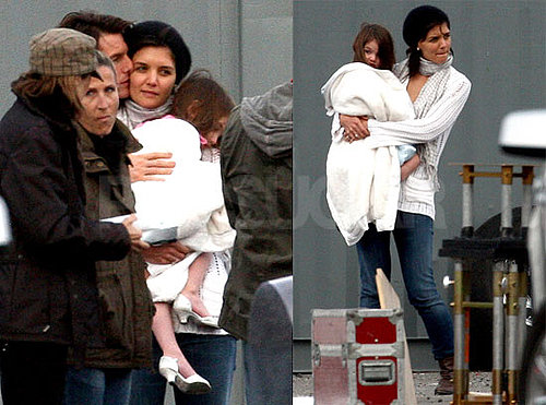 Photos of Tom Cruise, Suri Cruise, Katie Holmes, and Cameron Diaz From the Set of Wichita in Boston