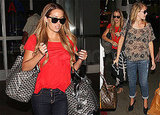 Photos of Lauren Conrad and Lo Bosworth in LA