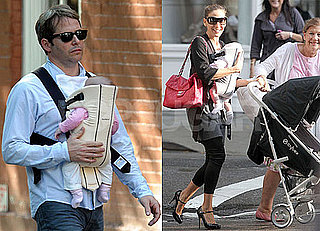 Photos of Sarah Jessica Parker and Matthew Broderick With Their Twins Tabitha and Marion in NYC