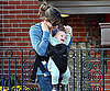 Slide Photo of Jennifer Garner and Laughing Seraphina Affleck