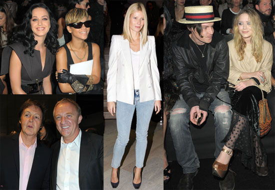 Photos of Gwyneth Paltrow, Paul, Stella McCartney, Karl Lagerfeld, Rihanna, Mary-Kate Olsen, Katy Perry at Paris Fashion Week 2009-10-05 10:30:25