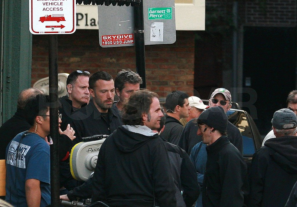 Photos of Ben Affleck Wearing a Mask in Boston