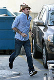 Photos of Megan Fox and Brian Austin Green at The Vets Office