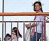 Slide Photo of Katie Holmes and Suri Cruise Together in Boston