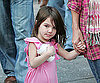 Slide Photo of Suri Cruise Carrying Starbucks in Boston