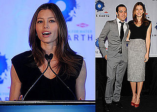Photos of Jessica Biel and Pete Wentz Announcing the Upcoming Live Earth Run For Water