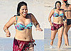Bikini Photos of America Ferrera in The Bahamas