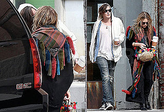 Photos of Mary-Kate Olsen and Nate Lowman Kissing in NYC