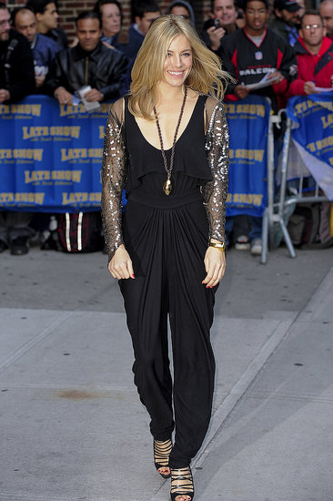 Photos of Sienna Miller at The Late Show