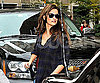 Slide Photo of Penelope Cruz Walking in NYC