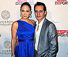 Slide Photo of Jennifer Lopez and Marc Anthony Walking Red Carpet at Dolphins Event