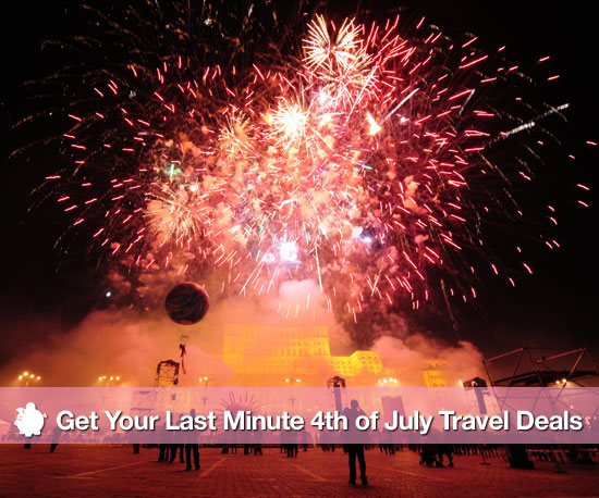 Last Minute Fourth of July Travel Deals