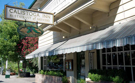 When you arrive in town, head over to the Calistoga Inn for a beer and some nibbles off the bar menu. The Inn brews its own selection of four microbrews (the wheat and red are local favorites), and also boasts a pretty extensive (Napa Valley-centric) wine list.