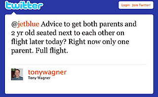 Twitter Your Airline Complaints While Traveling