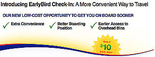 Southwest Introduces Early-Bird Check-In Option