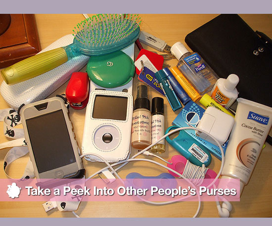 Take a Peek Into Other People's Purses